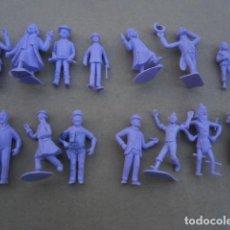 Figuras de Goma y PVC: LOTE 14 FIGURAS TINTIN TIN TIN PREMIUN DUNKIN MUY BUEN ESTADO . Lote 127253359