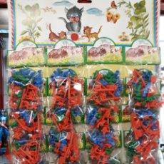 Figuras de Goma y PVC: BONITO EXPOSITOR TIPO MONTAPLEX SOLDADITOS. Lote 127561231