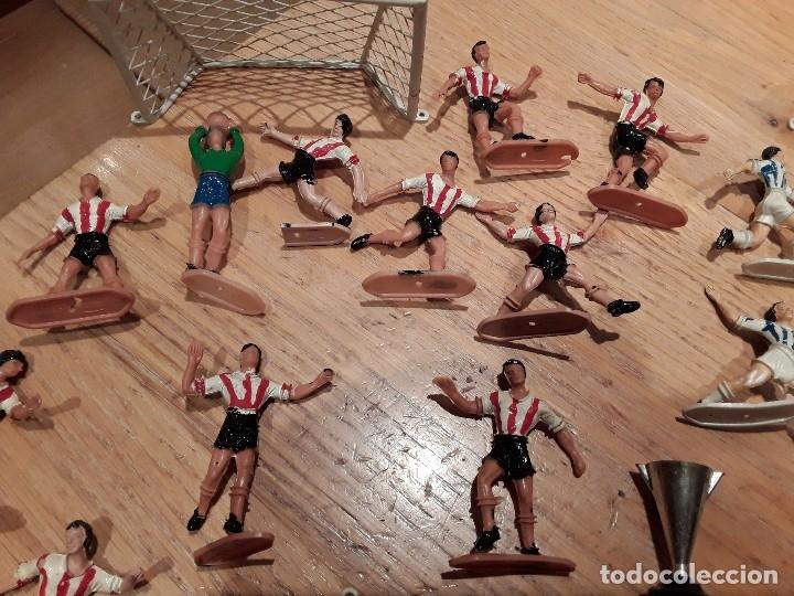 Figuras de Goma y PVC: Comansi grandes equipos , Real Sociedad , Athletic de Bilbao., completo - Foto 2 - 127679979