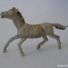 Figuras de Goma y PVC: CABALLO INDIO PLÁSTICO AÑOS 60. Lote 127745659