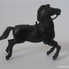 Figuras de Goma y PVC: CABALLO VAQUERO PLÁSTICO AÑOS 60. Lote 127746411