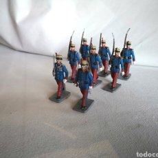 Figuras de Goma y PVC: SOLDADOS DESFILE MILITAR GUARDIA REAL -REAMSA, JECSAN-. Lote 127799370