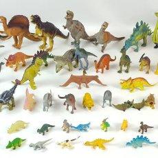 Figuras de Goma y PVC: GRAN LOTE DE 132 FIGURAS. DINOSAURIOS. REPTILES. MAMÍFEROS. ANFIBIOS. GOMA Y PVC. CIRCA 1970.. Lote 127858187