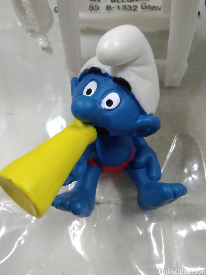 Figuras de Goma y PVC: PITUFO SOCORRISTA SCHLEICH. - Foto 4 - 127869020