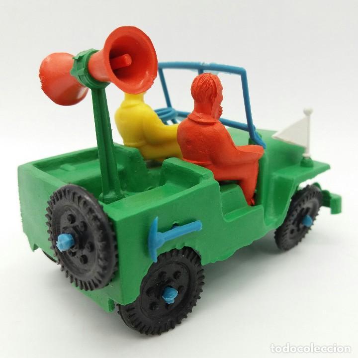 Figuras de Goma y PVC: JEEP SOTORRES, Juguete antiguo años 70 fabricado en España, nuevo a estrenar - Foto 2 - 127871515