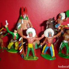 Figuras de Goma y PVC: INDIOS SOTORRES. Lote 127934439