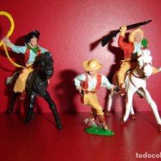 Figuras de Goma y PVC: COW-BOYS LAFREDO. Lote 127934551