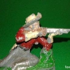 Figuras de Goma y PVC: VAQUERO DE PECH (TIPO JECSAN, REAMSA, COMANSI) EN PLÁSTICO.. Lote 139016846
