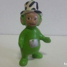 Figuras de Goma y PVC: MUÑECO EN PVC LOS TELETUBBIES / DIPSY (VERDE) / 7 CM / RAGDOLL 1996 BULLYLAND GERMANY. Lote 128022571