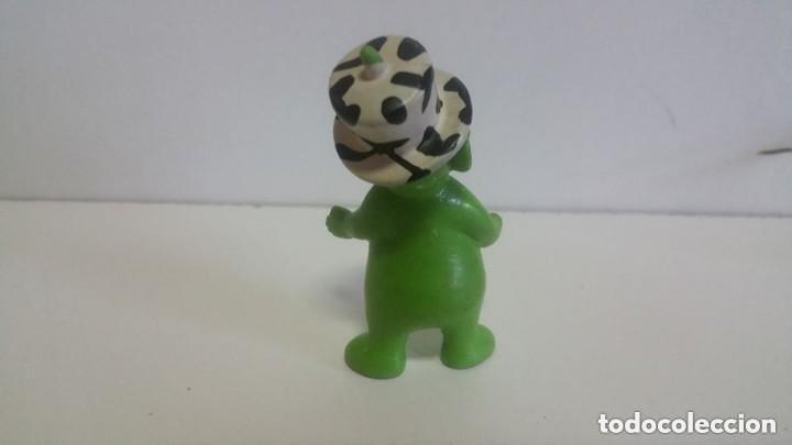 Figuras de Goma y PVC: MUÑECO EN PVC LOS TELETUBBIES / DIPSY (Verde) / 7 cm / RAGDOLL 1996 BULLYLAND GERMANY - Foto 2 - 128022571