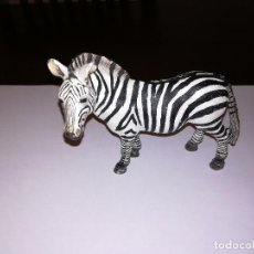Figuras de Goma y PVC Schleich: SCHLEICH FIGURA DE PVC CEBRA SERIE ANIMALES SALVAJES AFRICA MADE IN GERMANY. Lote 128052787
