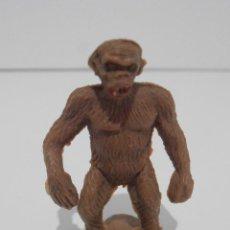 Gummi- und PVC-Figuren - MONO, SIMIO, GORILA ERGUIDO EN PLASTICO DEL CIRCO JECSAN, DIR DOR, AÑOS 60 - 128104851
