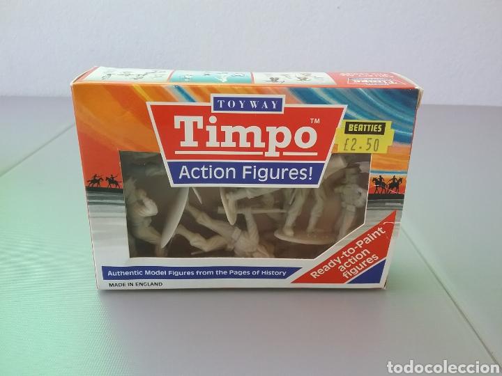Figuras de Goma y PVC: Timpo, soldados, legión extranjera francesa , caja original , legionarios tamaño britains, fsp - Foto 2 - 128105536