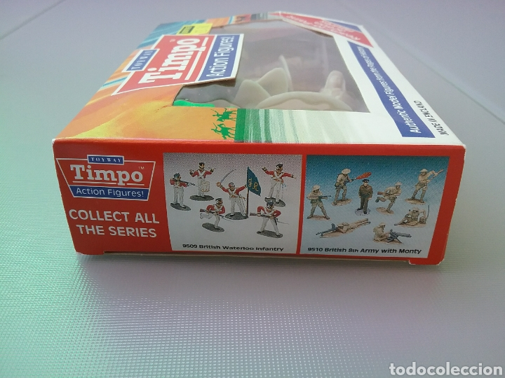 Figuras de Goma y PVC: Timpo, soldados, legión extranjera francesa , caja original , legionarios tamaño britains, fsp - Foto 3 - 128105536