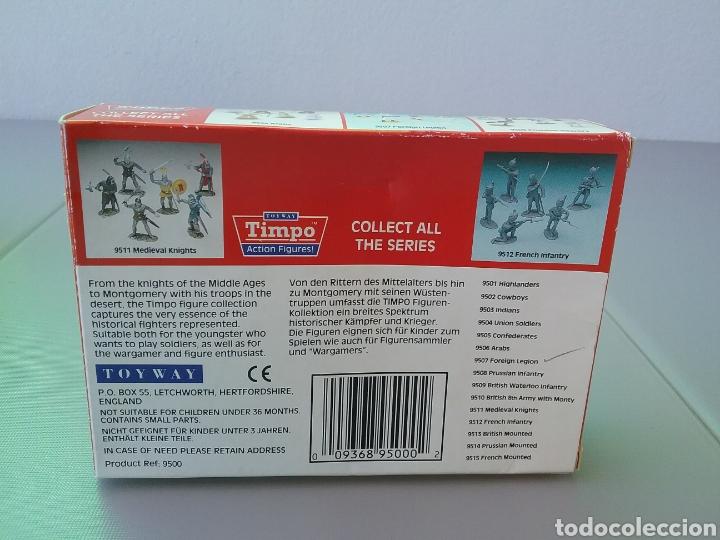Figuras de Goma y PVC: Timpo, soldados, legión extranjera francesa , caja original , legionarios tamaño britains, fsp - Foto 4 - 128105536