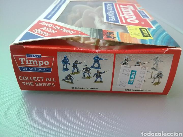 Figuras de Goma y PVC: Timpo, soldados, legión extranjera francesa , caja original , legionarios tamaño britains, fsp - Foto 5 - 128105536