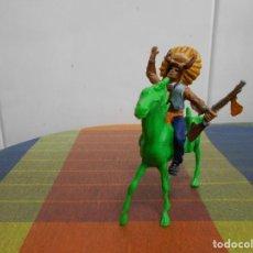 Figuras de Goma y PVC: FIGURA INDIO COMANSI, REIGON.. Lote 128163451