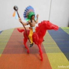 Figuras de Goma y PVC: FIGURA INDIO COMANSI, REIGON.. Lote 128163607