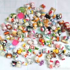 Figuras Kinder: LOTE DE + 50 FIGURAS HELLO KITTY KINDER. Lote 128185234