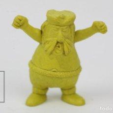 Figuras de Goma y PVC: FIGURITA DE PLÁSTICO DUNKIN - PIRATAS / EL PUPAS - ARIEL - AMARILLO -TITO. Lote 128237491