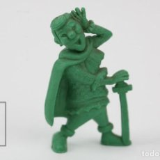 Figuras de Goma y PVC: FIGURITA DE PLÁSTICO DUNKIN - CORSARIOS / SEBASTIÁN - ARIEL - VERDE -TITO. Lote 128237691
