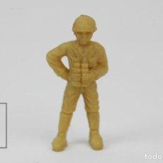 Figuras de Goma y PVC: FIGURITA DE PLÁSTICO DUNKIN - SOLDADO JAPONES - HAZAÑAS Y COMBATES - MEDIDAS 3,5 CM. Lote 128242447