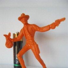 Figuras de Goma y PVC: FIGURA VAQUERO COWBOY ATRACADOR COMANSI VER FOTO ADICIONAL . Lote 128247479