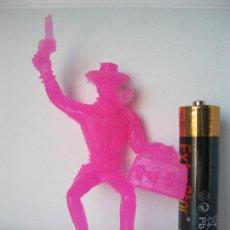 Figuras de Goma y PVC: FIGURA VAQUERO COWBOY JINETE ATRACADOR .- COMANSI VER FOTO ADICIONAL . Lote 128248099