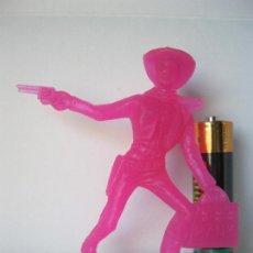 Figuras de Goma y PVC: FIGURA VAQUERO COWBOY ATRACADOR .- COMANSI VER FOTO ADICIONAL . Lote 128248559