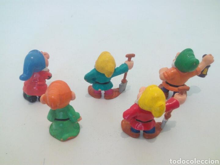 Figuras de Goma y PVC: Enanitos,pack de 5,figuras de goma bully 82-85 - Foto 2 - 128270760