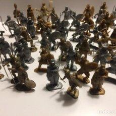Figuras de Goma y PVC: LOTE DUNKIN PHOSKITOS SOLDADOS DEL MUNDO . Lote 128314171