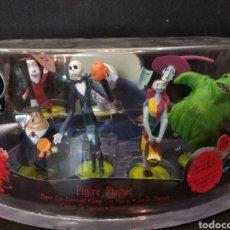 Figuras de Goma y PVC: FIGURAS PESADILLA ANTES DE NAVIDAD. PLAYSET 7 FIGURAS DISNEY.. Lote 128334951