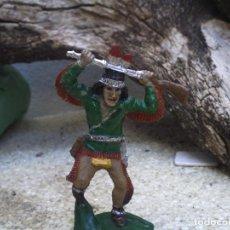 Figuras de Goma y PVC: INDIO GRANDE DE LAFREDO DE GOMA. Lote 128364795