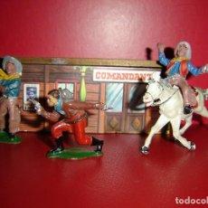 Figuras de Goma y PVC: COW-BOYS LAFREDO-GOMA. Lote 128410987