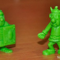 Figuras de Goma y PVC: 2 FIGURAS DE LA SERIE ASTERIX DE DUNKIN. Lote 128472927