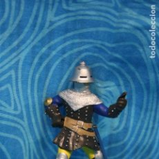 Figuras de Goma y PVC: FIGURA GOMA PAPO CABALLERO MEDIEVAL . Lote 128527267