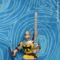Figuras de Goma y PVC: FIGURA GOMA PAPO CABALLERO MEDIEVAL. Lote 128527711