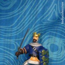 Figuras de Goma y PVC: FIGURA GOMA PAPO CABALLERO MEDIEVAL. Lote 128527847