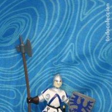 Figuras de Goma y PVC: FIGURA GOMA PAPO CABALLERO MEDIEVAL . Lote 128528271