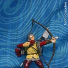 Figuras de Goma y PVC: FIGURA GOMA PAPO CABALLERO MEDIEVAL. Lote 139180864