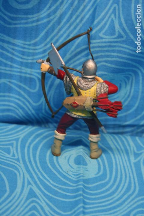 Figuras de Goma y PVC: FIGURA GOMA PAPO CABALLERO MEDIEVAL - Foto 3 - 139180864