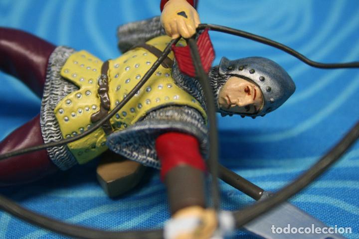 Figuras de Goma y PVC: FIGURA GOMA PAPO CABALLERO MEDIEVAL - Foto 4 - 139180864