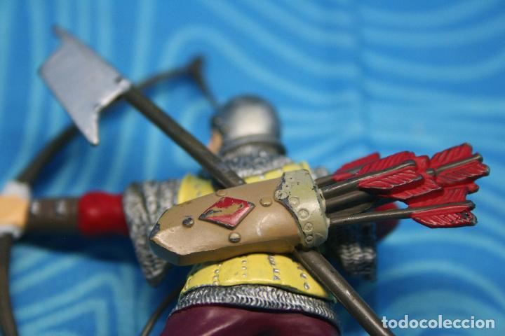 Figuras de Goma y PVC: FIGURA GOMA PAPO CABALLERO MEDIEVAL - Foto 5 - 139180864