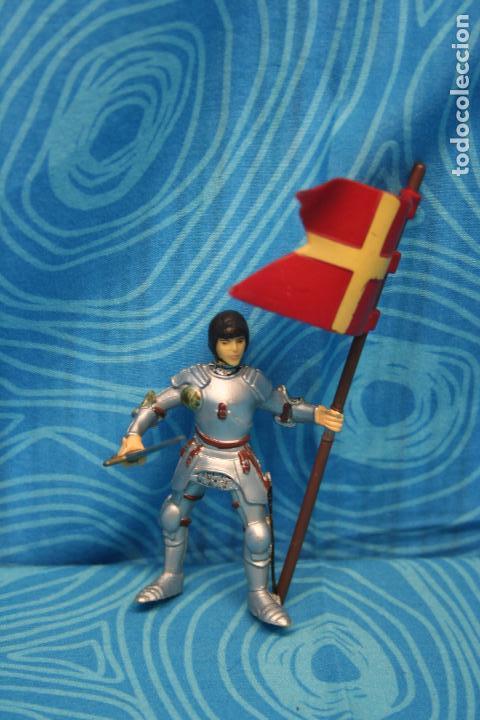Figuras de Goma y PVC: FIGURA GOMA PAPO CABALLERO MEDIEVAL - Foto 2 - 128529347