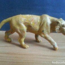 Figuras de Goma y PVC: ANTIGUO MUÑECO FIGURA DE TIGRE. AÑOS 70. PECH. ANIMAL COMANSI LAFREDO DUNKIN JECSAN REAMSA. Lote 128612423