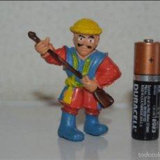 Figuras de Goma y PVC: MUÑECO FIGURA SOLDADO GUERRERO MEDIEVAL MSR. Lote 128620623