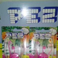 Dispensador Pez: LOTE DISPENSADORES CARAMELOS PEZ FLAMINGO FLAMENCO -EDICION LIMITADA,LIMITED EDITION. Lote 128675767