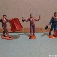 Figuras de Goma y PVC: TOREROS JECSAN. Lote 128742950