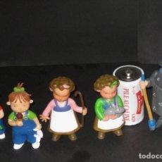 Figuras de Goma y PVC - Lote de las 3 mellizas (o bessones) marca Yolanda - 128836007