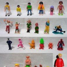 Figuras de Goma y PVC: LOTE 34 FIGURAS PEQUEÑAS. GOMA- PLAYMOBIL COLA CAO-NESTLE-DUNKIN-PICAPIEDRA-PPI-AÑOS 70-80-90-00. Lote 91953640